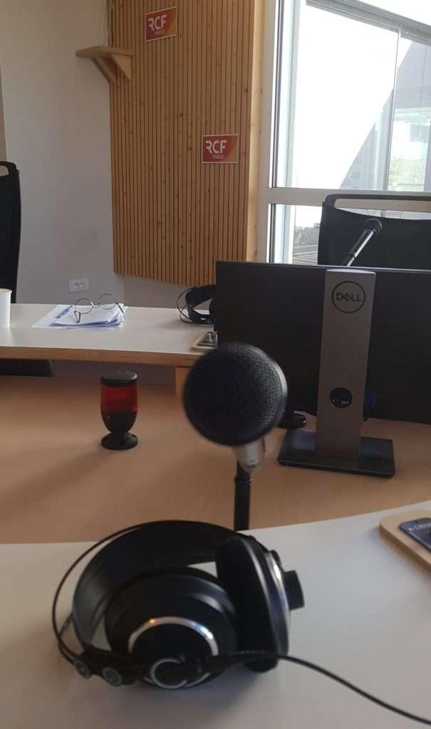 Plume - Maison d'écriture passe sur RCF Lyon